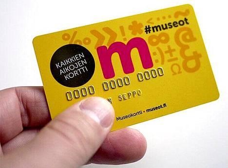 Museokortti, kävijälle ihana.