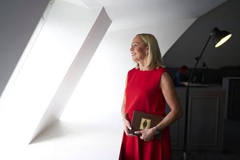 Hille Korhonen on työskennellyt vuodesta 2013 Alkon toimitusjohtajana. Hänet kuvattiin Alkon pääkonttorissa viime elokuussa.