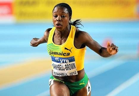 Jamaikalaisjuoksija Veronica Campbell-Brownin dopingpanna kumottiin.