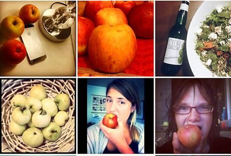 Instagramissa leviää puolalaisten protestikuvia hashtagilla #eatapples.