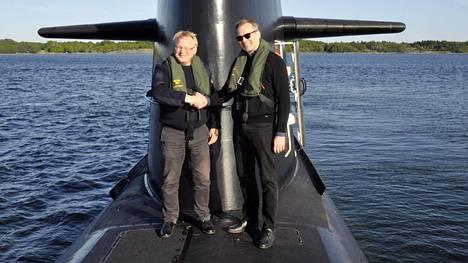 Toukokuussa 2016 Niinistö ja Ruotsin puolustusministeri Peter Hultqvist pääsivät ruotsalaisen Gotland-luokan sukellusveneen kyytiin. Niinistö sai ohjata sukellusvenettä 5-10 minuutin ajan.