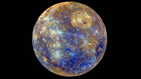 Merkurius kiertää Aurinkoa lähimpänä planeetoista.