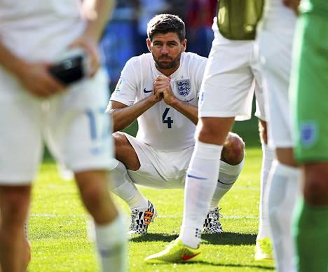 Steven Gerrardille viime kuukaudet ovat olleet raskaita.