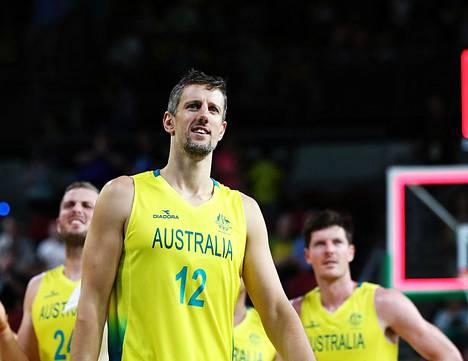 Daniel Kickert juhli Australian voittoa Skotlannista tämän vuoden huhtikuussa.