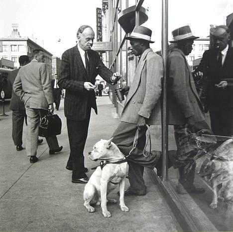 Vivian Maier, syyskuu 1956, New York.