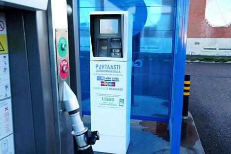Biokaasua ei veroteta lainkaan, ja maakaasustakin maksetaan veroa vähemmän kuin bensasta tai dieselistä.