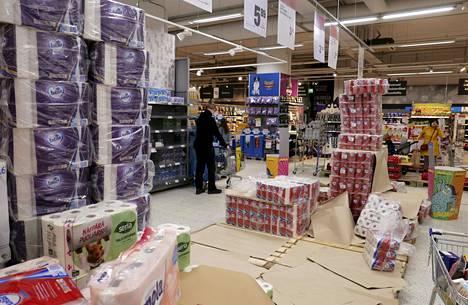 Vessapaperi ja muut hygieniatuotteet ovat tehneet kauppansa torstaina ja perjantaina.