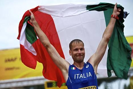 Alex Schwazer on 50 kilometrin olympiavoittaja vuodelta 2008. Kuva vuodelta 2016.