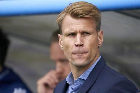 Toni Koskelan valmentama HJK eteni Suomen cupissa kahdeksan parhaan joukkoon. Kuva heinäkuulta 2019.