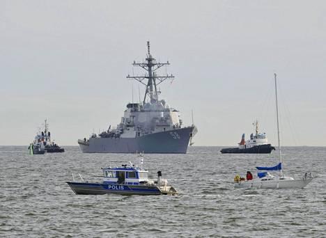 Yhdysvaltain laivaston alus USS Laboon vieraili Helsingissä toukokuussa 2010. Nyt laivasto uudistaa painorajojaan osana koko armeijan uutta strategiaa.
