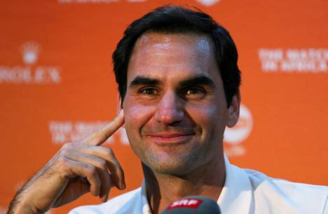 Roger Federer kuvattuna 5. helmikuuta 2020.