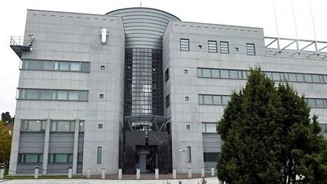 Keskusrikospoliisin toimitalo on sijainnut Jokiniemessä vuodesta 1994 lähtien. Kuva lokakuulta.