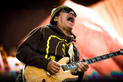 Santana soitti Suomessa viimeksi vuonna 2011.