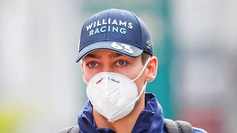 Williamsin George Russell syytti Valtteri Bottasta kolarista.