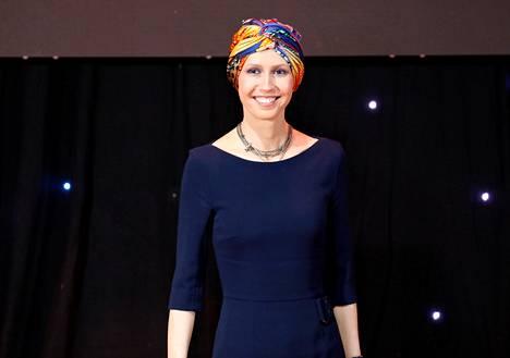 Syyrian presidentin puoliso Asma al-Assad osallistui Damaskoksen yliopiston professorien valmistujaisjuhlaan joulukuussa 2018.