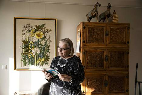 Mikkola's mother Liisa Kouvonen has a lot of Chinese furniture from the time she was working in Taiwan and later in Beijing.