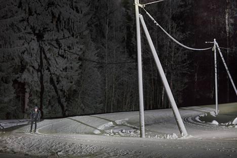 Tammikuussan 2018 Oittaan laduilla oli talvinen tunnelma.
