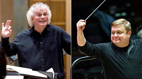 Mikko Franck (oik.) sai kutsun johtamaan Berliinin filharmonikkoja Simon Rattlen perumisen seurauksena.