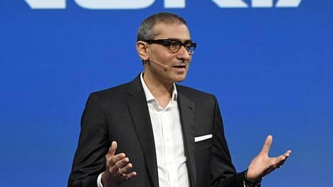 Nokian väistyvä toimitusjohtaja Rajeev Suri kertoi yhtiön toisen vuosineljänneksen tuloksesta perjantaina.
