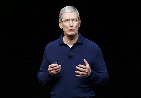 Applen toimitusjohtaja Tim Cook