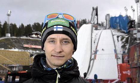 Lahtelainen Eetu Söyrinki on vahvimmillaan mäkihypyssä.