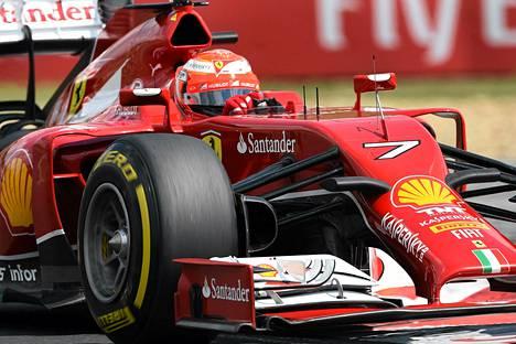Kimi Räikkönen ei ole sanojensa mukaan hidastunut.