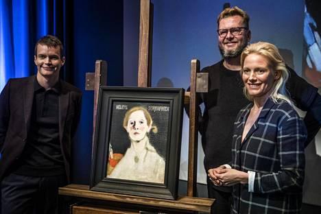 Antti J. Jokinen ohjaamassa elokuvassa Helene Schjerfbeckiä näyttelee Laura Birn ja taiteilijan ystävää Einar Reuteria Johannes Holopainen.