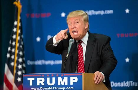 Presidenttiehdokas Donald Trump.
