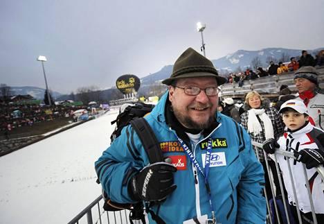 Juha M. Venäläinen Keski-Euroopan mäkiviikolla 5. tammikuuta 2009.
