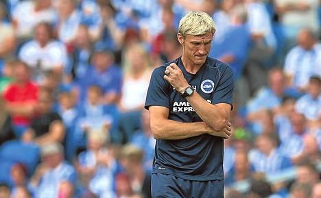 Sami Hyypiän valmentama Brighton jäi pisteittä.