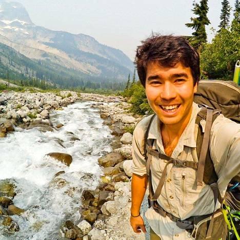 Pohjois-Sentinelin saarella menehtynyt yhdysvaltalainen John Allen Chau Instagram-tilin kuvassa.