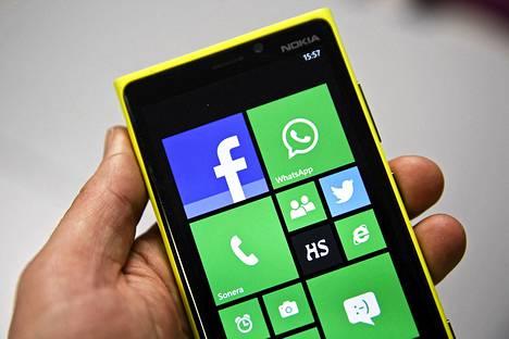 Nokian Lumia 920 -älypuhelin