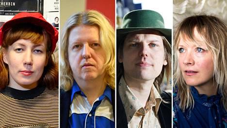 Litku Klemetti (vas.), Matti Mikkola, Jukka Nousiainen ja Jonna Tervomaa.