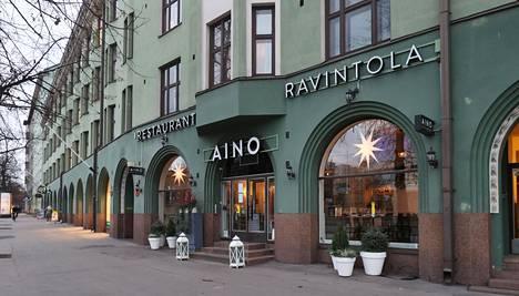 Ennen ravintola Ainoa Mannerheimintie 56 tunnettiin ranskalaisravintola Lyonin osoitteena.