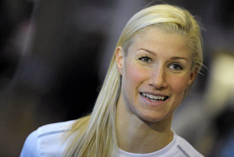 Hanna-Maria Seppälä on hyvässä syyskunnossa.