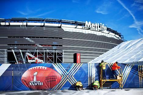 Metlife Stadium New Jerseyssä.