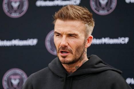 David Beckham kuvattuna 24. helmikuuta 2020.