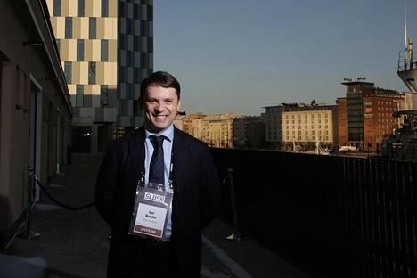 Skolkovon hallituksen puheenjohtaja Igor Drozdov kävi joulukuun alussa Helsingissä Slush-tapahtumassa.