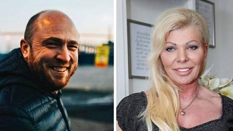 Onni Sarmaste ja Tiina Jylhä.