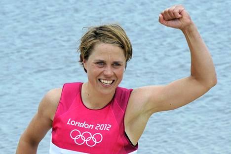 Tuuli Petäjä-Siren voitti Lontoon olympialaisissa hopeaa.