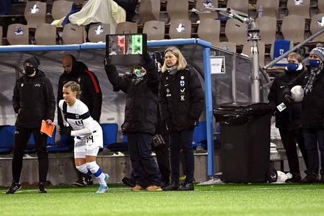 Päävalmentaja Anna Signeul on yksi menestyksen avaimista.