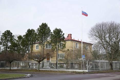 Venäjällä on konsulaatti Maarianhaminassa Ahvenanmaalla.