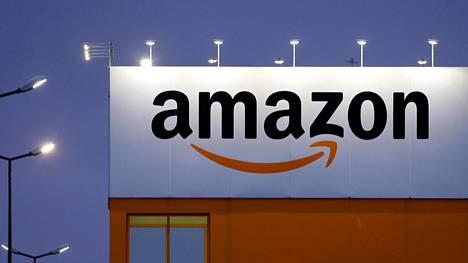 Amazonilla on logistiikkakeskus Pohjois-Ranskassa. Kuva otettu helmikuussa 2017.