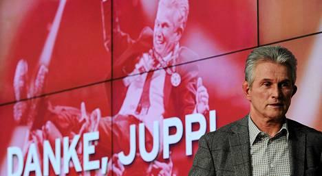 Jupp Heynckes piti tiistaina viimeisen lehdistötilaisuutensa Bayern Münchenin valmentajana.