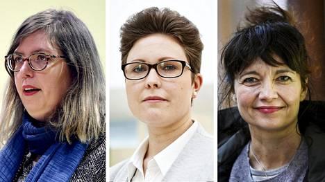Emilia Palonen, Jenni Karimäki ja Kirsi Piha