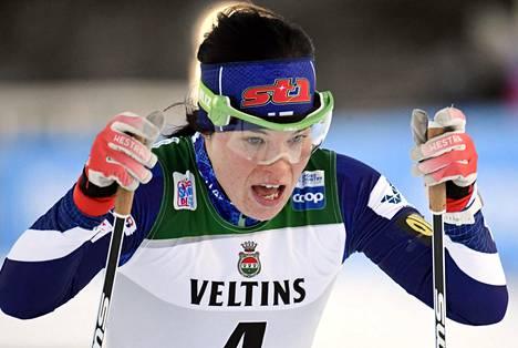 Olympia- ja MM-mitalisti Krista Pärmäkoski on yksi suomalaisen urheilun tunnetuimpia kasvoja