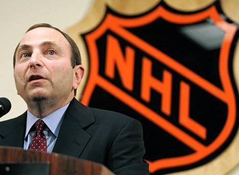 NHL-komissari Gary Bettman on sanonut, ettei liigalla ole tarkoitusta laajentua.