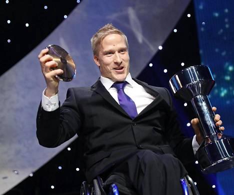 Leo-Pekka Tähti valittiin vuoden urheilijaksi.