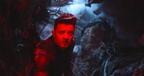 Avengers on tähän mennessä vuoden katsotuin Suomessa elokuva yli 300000 lipun ostajalla. Kuvassa näyttelijä Jeremy Renner.