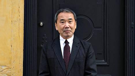 Haruki Murakami vieraili satusetä H.C. Andersenin talolla Tanskan Odensessa lokakuussa 2016.